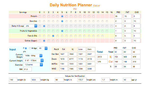 daily-nutrition-planner